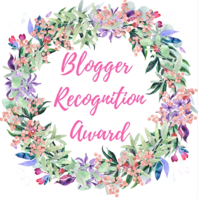 Blogger RecognitionAward